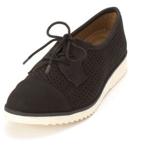 Womens Lace Up Oxford by Natural Sole